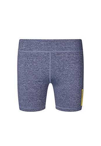 Skiny Damen Shorts SK86 Trend mit eng anliegender Passform Indigo Melange, 36