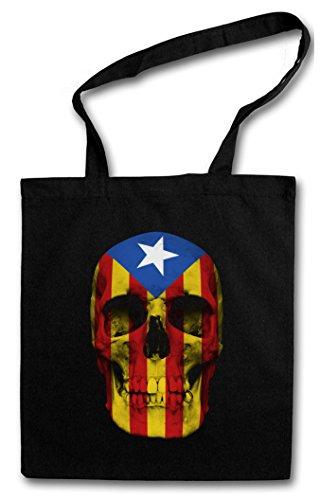 Urban Backwoods Catalonia Skull Flag Bolsas de la Compra Reutilizables