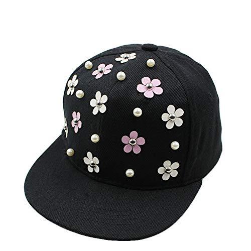 Fnito Baseball Cap Mode Hysteresenhut Punk Igel Rock Hip Hop Blume Niet Stud Spike Spiky Hut Cap Baseball Cap Für 3-8Yrs Kinder