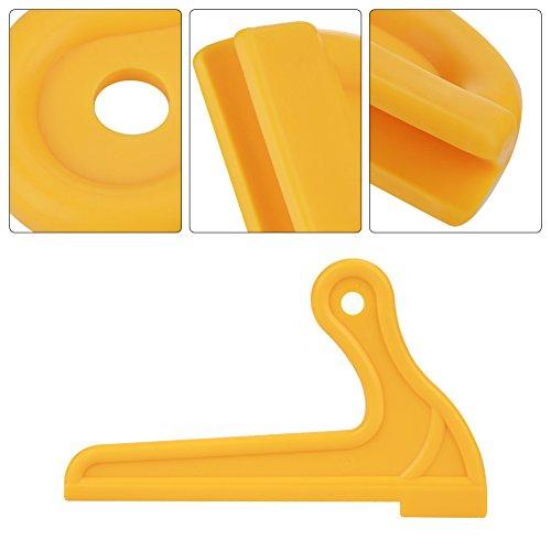 Empuje Los Palillos, Palillos De Sierra De Madera De Tipo V De Seguridad Portátil Amarillo 2Pcs Para La Mesa De Carpintería Router