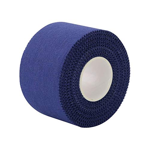 Sportband 12 Cotton Sports Band Fitness Kinesiologie Water Resistant Adhesive Kniegelenke Schutz Band (Color : Navy Blue)