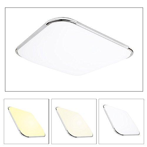 Hengda 16W LED Deckenleuchte Farbwechsel Lichtfarbe Moderne Esszimmer Deckenbeleuchtung Badezimmer geeignet
