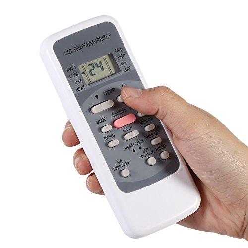 Air Conditioner Remote Control, Air Conditioner Remote Control Replacement Universal Controller for Midea R51M/E