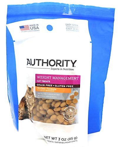 Tesadorz Bags and Authority Weight Management Cat Treats, 3 Ounce (Pack of 2)