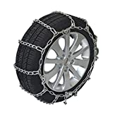 FSDGHSD Tire Chains,Anti-Skid Chains,Snow Chains for SUV,Truck(2 Pack) (Size : 245=R17)