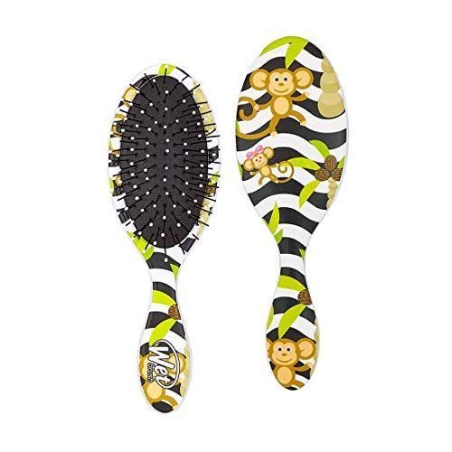 Wet Brush Hair Brush Sweet Treat Kids Detangler with Soft IntelliFlex Bristles, Detangling Hairbrush for All Hair Types – (Loco Coco Coconut Scented), Multicolor