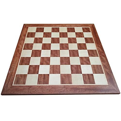 Nuevo chessex Tablero De Ajedrez De Madera Tablero De Ajedrez con Diseño Antideslizante Diseño De Empalme De Arce De Palisandro Tablero Regalo de ajedrez (Color : Chess Board Only)