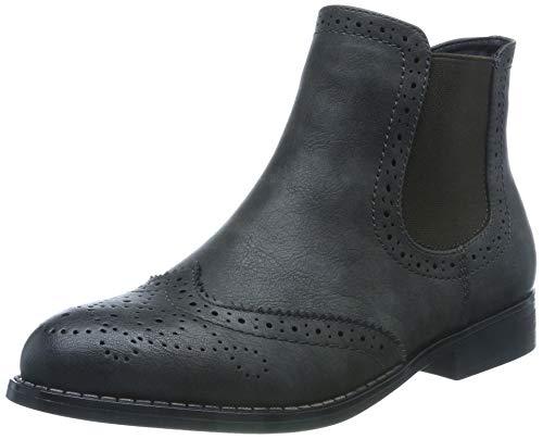 Rieker Damen 98791 Chelsea Boots, Grau (Basalt 45), 39 EU