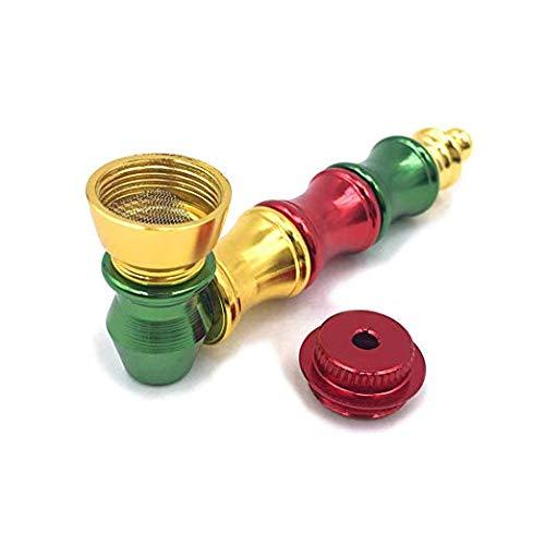Portable Detachable Color Metal Bamboo Shape Tube
