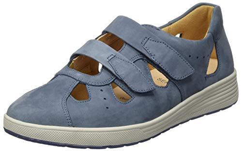 Ganter Damen SENSITIV Klara-K Slipper, Blau (Jeans 3400), 40 EU
