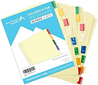 Best avery two pocket insertable plastic dividers Reviews