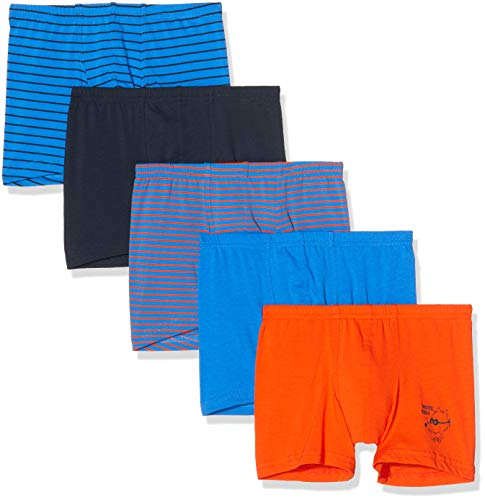 Schiesser Jungen Multipack Boys World 5Pack Shorts Boxershorts, Mehrfarbig (Sortiert 901), 104 (5er Pack)