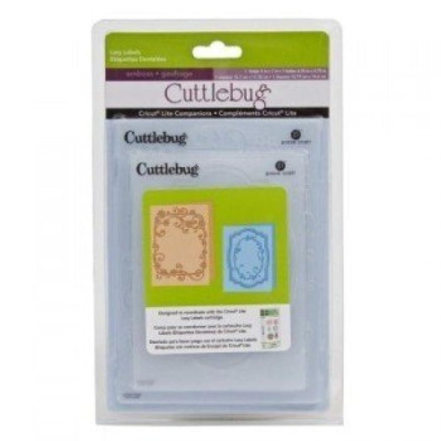 Lacy Labels Cricut Lite Companions Embossing Folders
