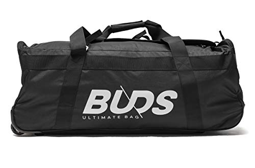 Buds-Sports Duffel Bag 160 Litre Wheeled Travel Bag - Ideal for Sports/Expeditions/Travel - Big Bag Buds