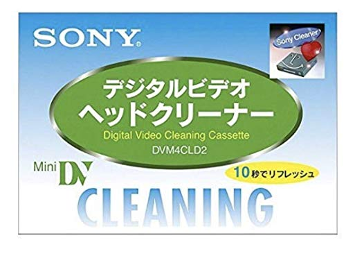 Cinta limpiadora Mini DV videocámara Sony DVM4CLD2 (Japan)