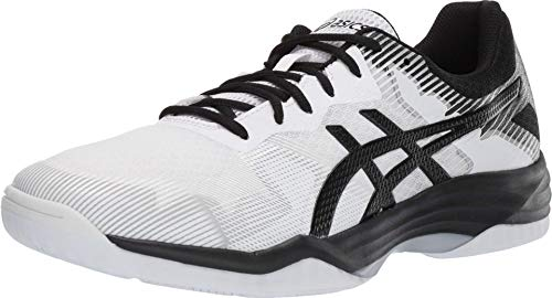 ASICS Men's Gel-Tactic 2 Volleyball Shoes, 9.5M, White/Black