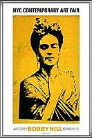 ポスター ボビー ヒル Kahlo 額装品 アルミ製ハイグレードフレーム(シルバー)