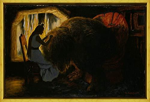 Berkin Arts Marco Theodor Severin Kittelsen Giclee Lienzo Im