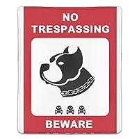 マウスパッド 防塵 耐久性 滑り止め 耐用 ゴム製裏面 軽量 携帯便利 ノートパソコン オフィス用 ゲーム用 (180*220*3mm) 犬注意