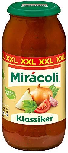 MIRÁCOLI Pasta Sauce Klassiker, 6 Gläser (6 x 750g)