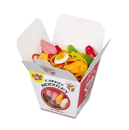 Fruchtgummi Mix CANDY NOODLES aus verschiedenen Fruchtgummi-Sorten, Geburtstag, Valentinstag, Muttertag, Geschenk, 110g