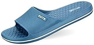 Relaxo Flite Men's Steel Blue Flip Flops And House Slippers (Fl-245)