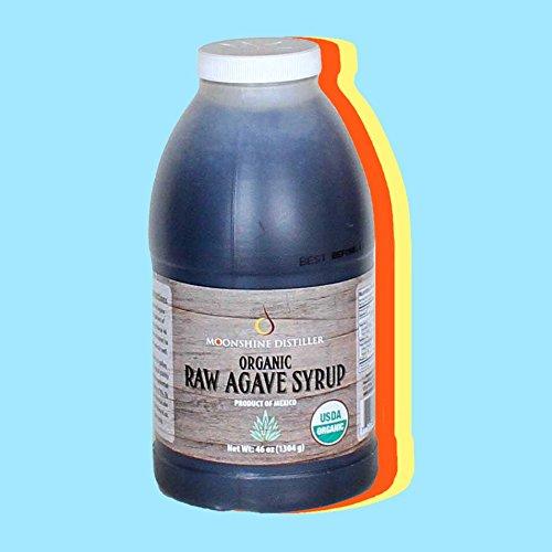 Organic RAW Blue Agave Syrup - 48 OZ.