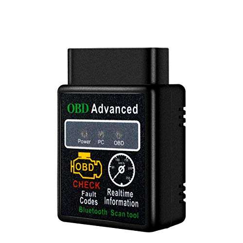 obdator OBD2 Bluetooth Scanner, Black OBD2 Reader Car...