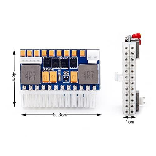 Módulo de alimentación de alimentación de CC a ATX Interruptor de alimentación de CC a CC de 12 V 250 W 24 Pines para computadora