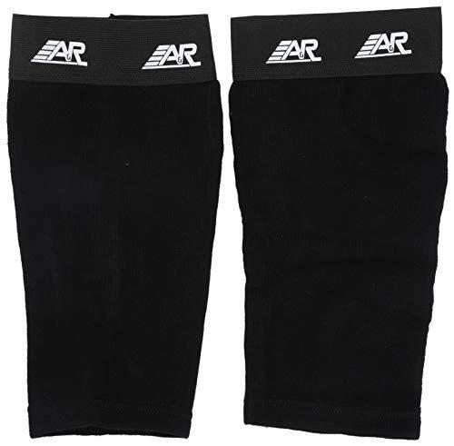 A & R Sports Schienbein Sleeve, SLEEVJR, Schwarz, Für Kinder