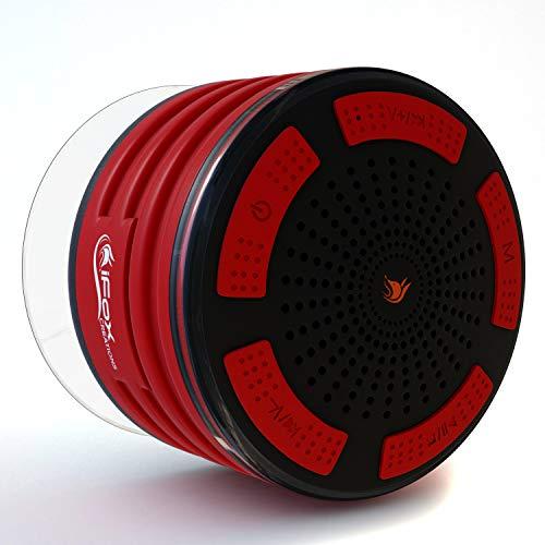 iFox iF013 - Bocina con Bluetooth para la Ducha - Impermeable - con Manos Libres y Radio FM - Compatible con iPhone, iPad, iPod y PC -...
