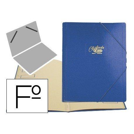 Saro 30-A - Carpeta clasificador, color azul