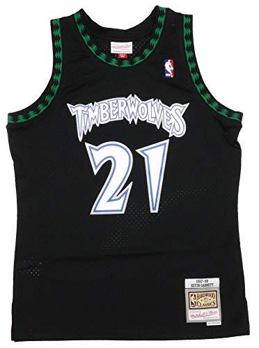 Mitchell & Ness Swingman Mesh Jersey Minnesota Timberwolves 97-98 K. Garnett
