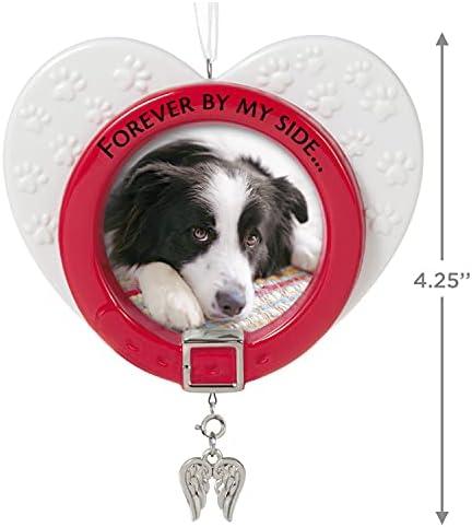 Special Dog Photo Holder-1995 Keepsake Hallmark Ornament,Very Cute`New/>Free 2 US
