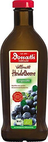 Donath Bio pełnopodobna borówka borówka niesłodzona (0,5 l)