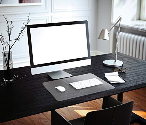 "Floortex Desktex Anti-Static Laptop Mat, Economical Desk Pad with Static Protection, PVC, Clear, 12"" x 18"" (FPDE312184RA)"