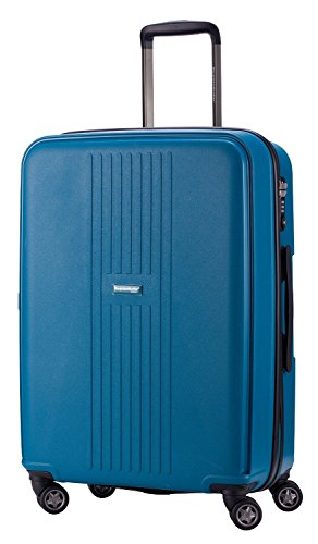 HAUPTSTADTKOFFER 71 Liter (ca. 65 x 46 x 26cm) · Reisekoffer · F-HAIN · TSA Schloss · in verschiedenen Farben (Blau)