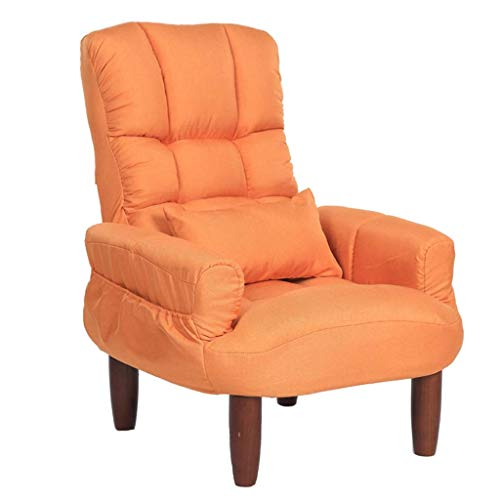 Foldable Deck Chair Recliner Chairs Padded Couch Chair Balcony Nap Sofa Chair Armchair Dining Chair Sun Lounger Couch Side Chair Guest Chair Dressing Table Computer Chair Feeding Chair