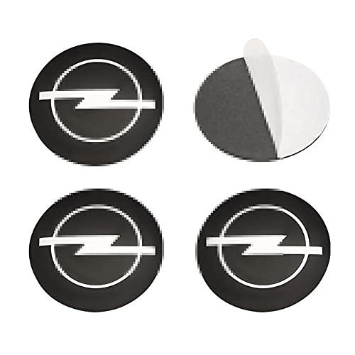 XIUHUA Compatible con Opel Astra H G J K F Zafira A B Corsa B C D Mokkav Insignia Vectra, 56 mm Centro de Ruedas de automóvil Caps Caps Emblem Etiqueta de Etiqueta Cubierta (Color Name : Red)