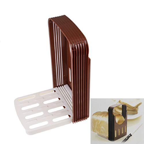 Best Quality Practical Bread Cutter Loaf Toast Slicer Cutting Slicing Guide Random, Bread Cutter Slicer - Loaf Bread, Bread Slicing, Bread Guide, Bread Slice Guide, Folding Bread Slicing Guide