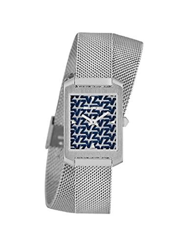 Zadig & Voltaire Milanese - Reloj de pulsera para mujer, color plateado