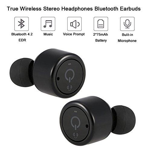 Yizhet Mini Bluetooth V4.2 Auricolari Stereo Bluetooth...