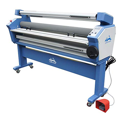 Ving 55in Full-auto Low Temp Wide Format Cold Laminator Machine Large Format Laminator Machine with Heat Assisted- US Stock