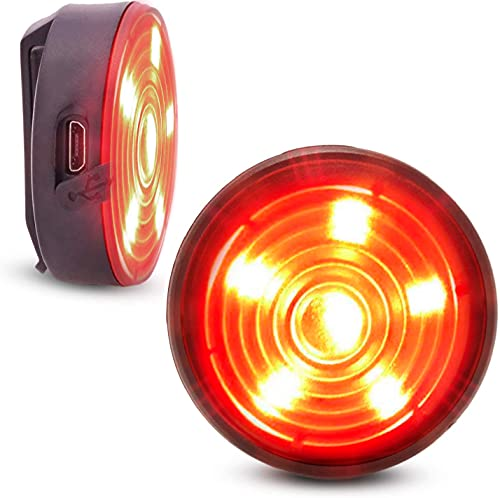 Everbeam E200 LED Bicycle Lights Front and Rear Rechargeable...