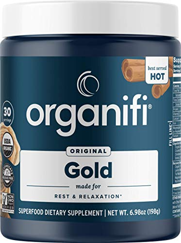 Organifi: Gold - Superfood Supplement Powder - 30...