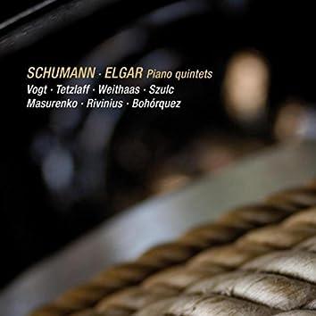 Schumann & Elgar: Piano Quintets (Live)