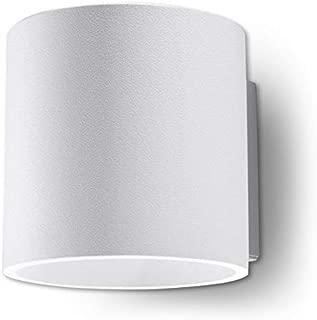 sollux Lighting Orbis 1–Lámpara de pared, aluminio, color blanco