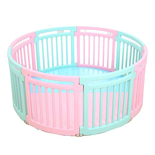 Buy Bargain CQILONG Baby Playpen Plastic Stitching Game Fence for Home, Indoor and Outdoor Use with ...