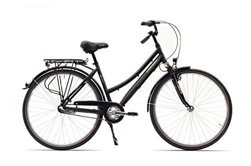 HAWK City-Trek Sport, 3-G Fahrrad, Comfort Black, 28 Zoll