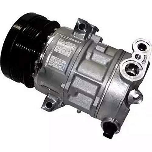 Compressore climatizzatore aria condizionata 9145374925656 EcommerceParts per costruttore: GENUINE, ID compressore: 5SL12C, Puleggia-Ø: 110 mm, N° alette: 6, Tensione: 12 V #co